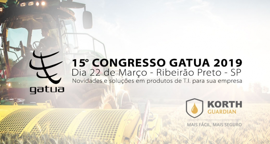 KORTH participa do 15º Congresso GATUA